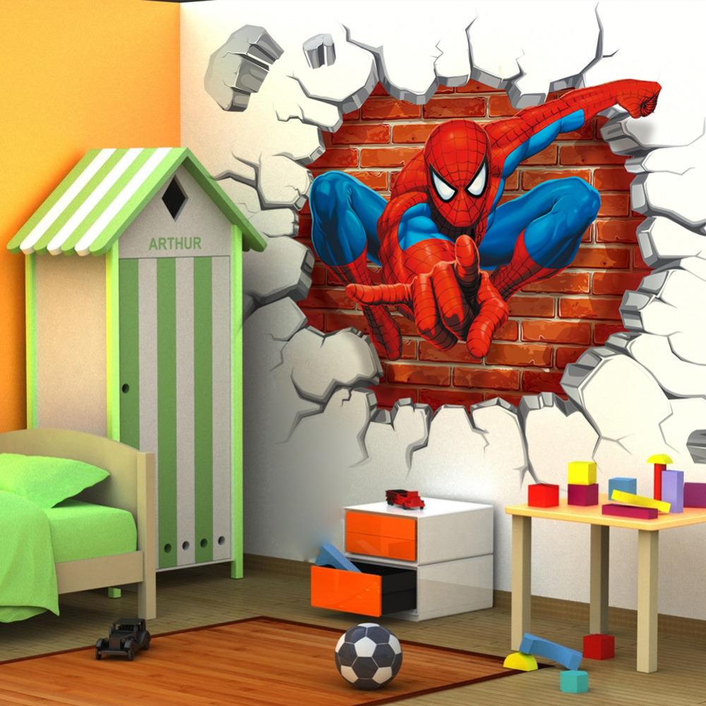 Decoration Murale Spiderman