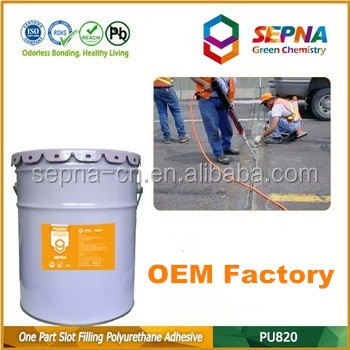 Welcome OEM PU820 One Component Self-leveling Polyurethane Joint Sealant