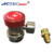 Quick coupler fitting SAE J-639 14mm 6 Ball R-134a manual quick coupler for air conditioner