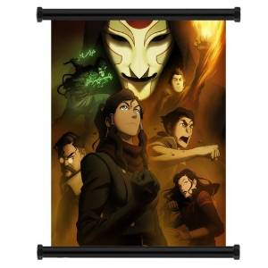 "1 X Avatar: The Legend of Korra Cartoon Fabric Wall Scroll Poster (16"" x 20"") Inches"