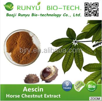 2017 aescin escin/aesculus hippocastanum extract 20% aescin with 98% aescin