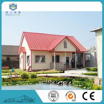 Alibaba China Light Gauge Steel House Beautiful Design Small House
