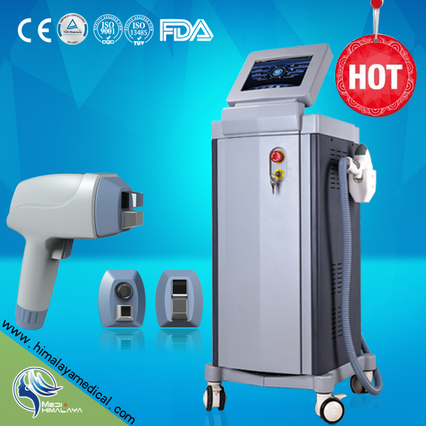 Professional 808nm diode laser for face body hair removal machine