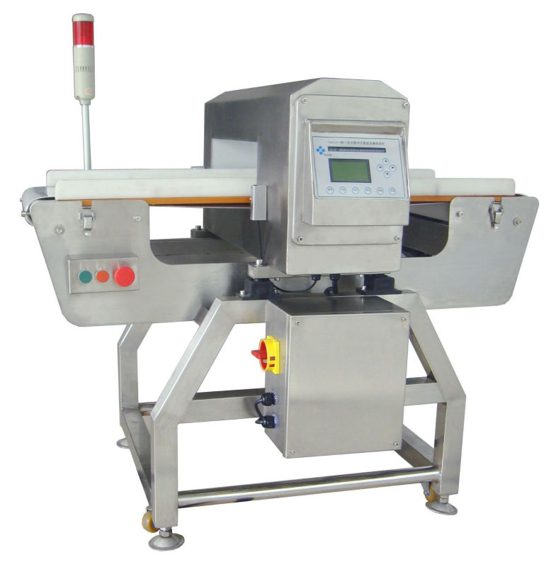 Food Conveyor Belt Metal Detector with Automatic Rewind Function