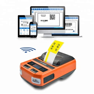 cheap bluetooth thermal ticket label machine receipt printer for clothing tag price stickers