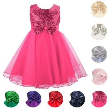 Dress Junior Flower Kids Bridesmaid Dresses Princess