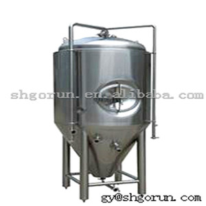300 Liter Beer Fermentation Tank/ Cooling Jacket Conical Fermenter