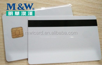 JAVA chip card Jcop21-36k J2A040 40K Smart card with HICO 2 track magnetic