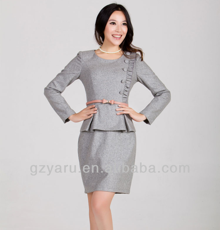 Las Formal Fashion Office Wear Uniforms Suppliers