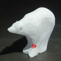 garden decorative stone bear statue,animal abstract sculpture