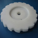 customized plastics nylon spiral bevel gears by CNC high wear-resisting nylon plastics bevel gear