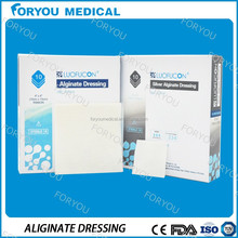 silvercel Hydrofiber algisite ag Antibacterial Silver Alginate Dressing antimicrobial silver sheets silvercel alginate dressing