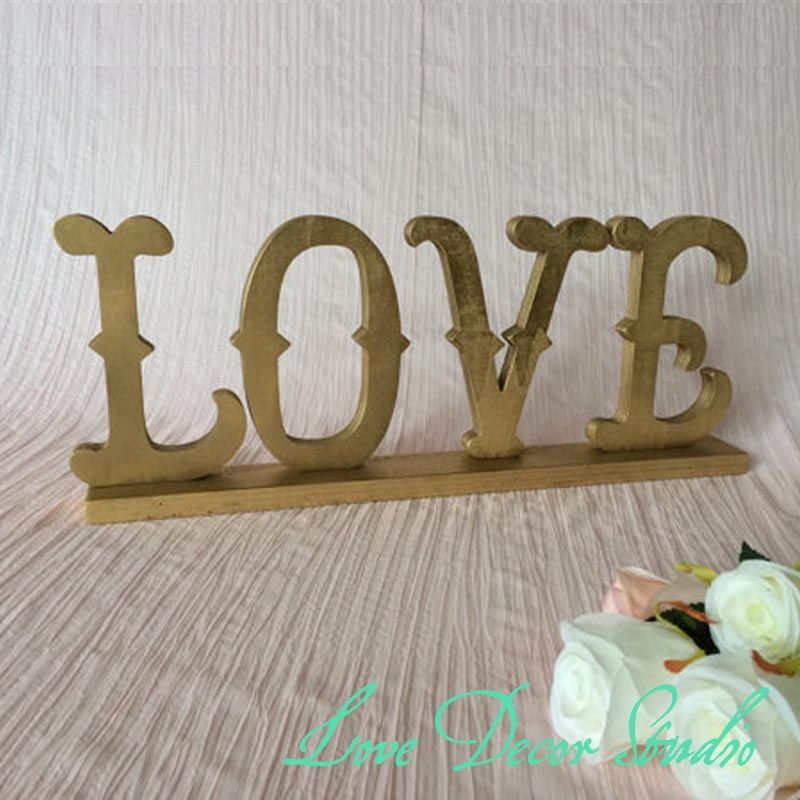 10 Home Decor Stores We Love: Aliexpress.com : Buy Home Decor LOVE Sign Made Of Wood