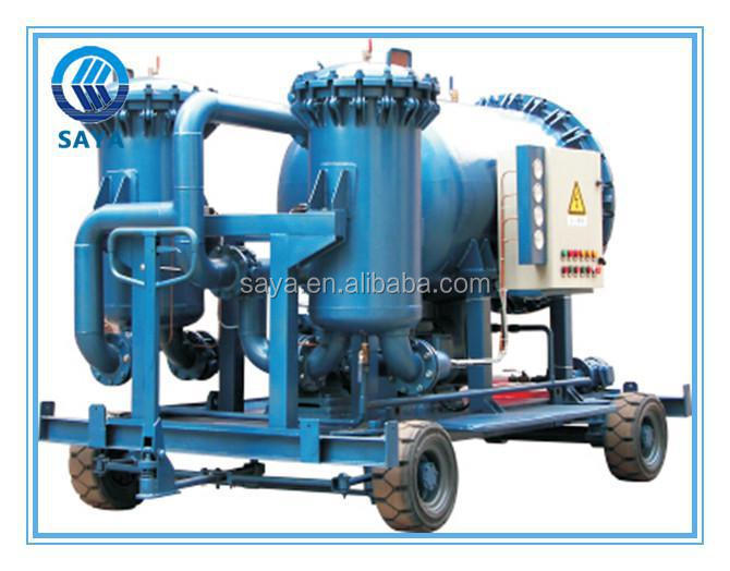 decolored & dehydration function coalescencing heavy fuel oil purifier machine