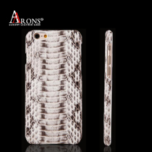Luxury python skin leather phone thin ultra back case for iphone6 plus
