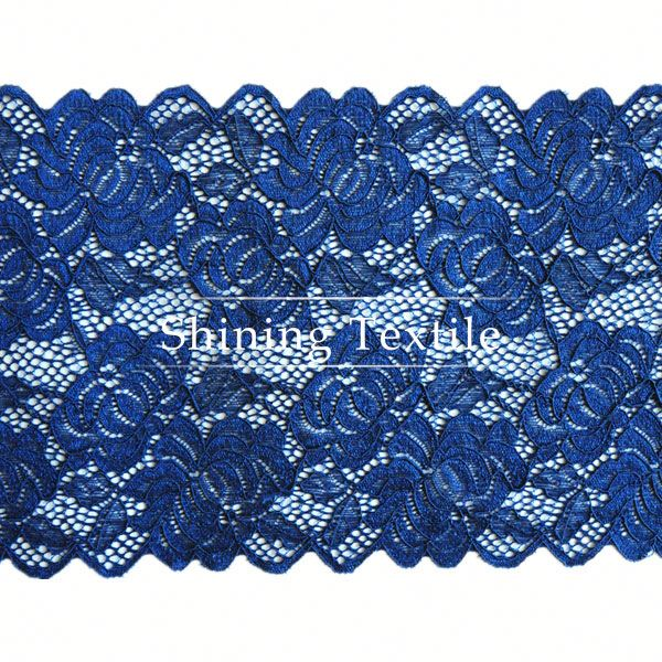 New Design 92% Nylon 8% Spandex Lace Trim Febric For Underwear
