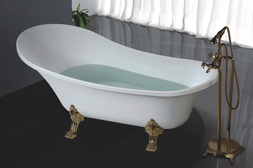 Cheap freestanding bathtub price japanese soaking tub for Cheap free standing tubs