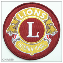 High Quality Custom logo iron on patch embroidery design for clothing