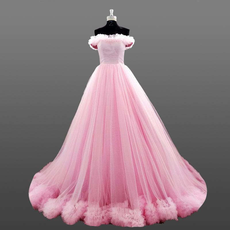 Venta al por mayor vestido novia color-Compre online los mejores ...