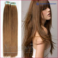 AAAAA Grade Top Quality Virgin Human Hair Tape Hair Extension