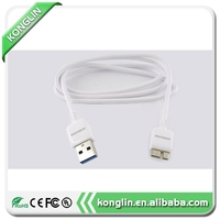 Superior quality for s5 to laptop data cable for samsung galaxy note 3 n9000 colored micro usb cable for agent