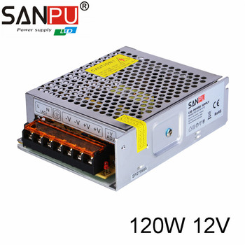 12 Volt Converter >> Sanpu Ac Dc Converter 110v To 24v 12 Volt 10 Amp Smps 24v 5a 120w Switching Power Supply Buy 12 Volt 10 Amp Smps Ac Dc Converter 110v To 24v 24v 5a