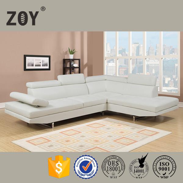 Moderna móveis para casa mobília da sala de estar sofá de canto de ...