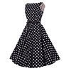 /product-detail/vintage-style-red-white-polka-dot-black-dress-design-for-wedding-party-60679604383.html