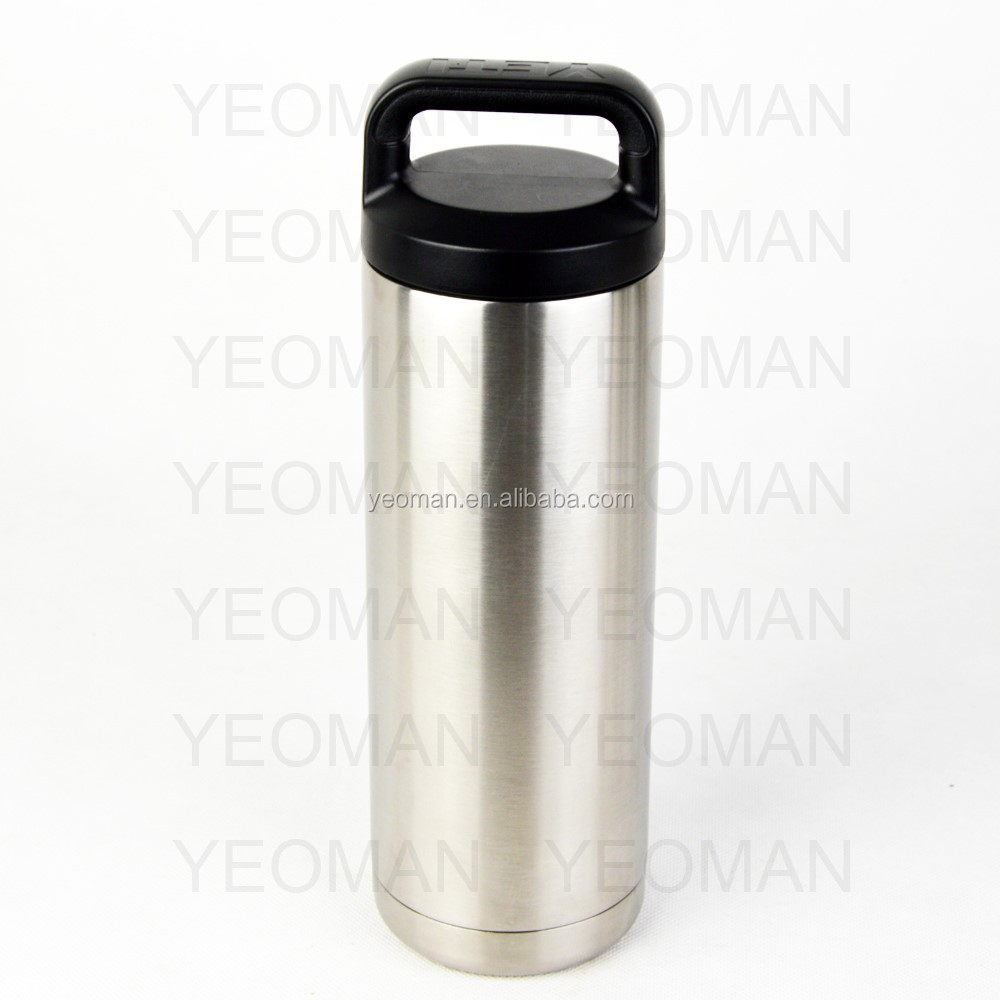vacuum insulated stainless steel water bottle wide mouth 18oz 36oz 64oz
