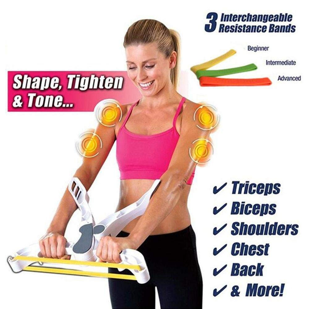 Gudessly Arm Trimmers to Help Lose Arm Fat /& Reduce Cellulite Slimmer Arm Gym Exercise Bands for Women /& Men Repels Sweat Moisture,Workout Thermal