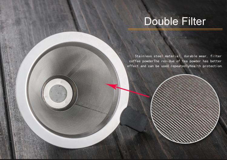 Borosilicate Glass Drip Coffee Maker Pour Over Coffee Maker