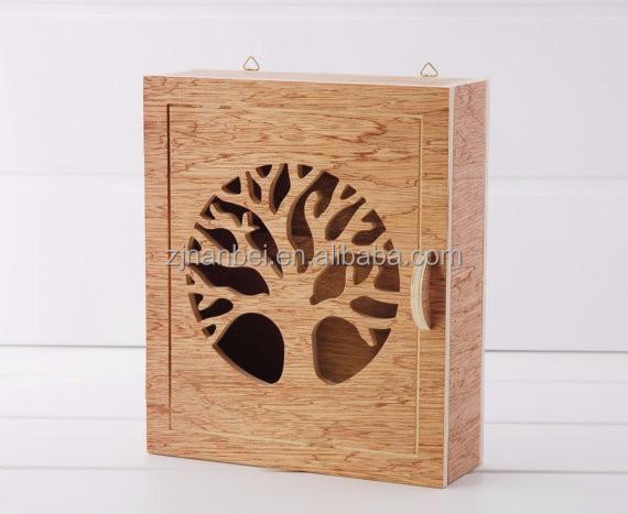 Decorative Wooden Boxes Australia : Decorative key cabinet bar