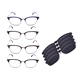 Most Popular Flip Out metal sunglasses fashion myopia sunglasses magnetic clip on sun glasses frames