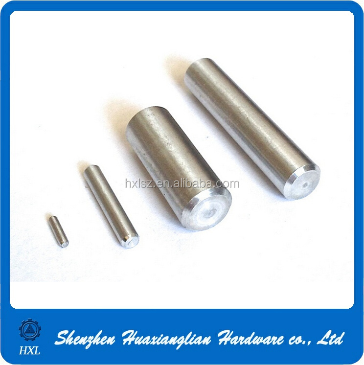 OEM high precision stainless steel or aluminum cylindrical dowel pin