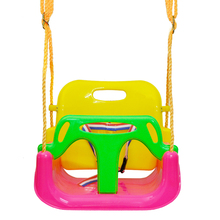 Brand promotion amusement child play toy infant outdoor toddler swing seat kids plastic swing