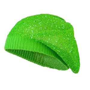 4f72c0f48d0b1 Sequin Beret Hat