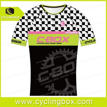 2015 CYCLINGBOX Custom cycling sports T shirt with your logos