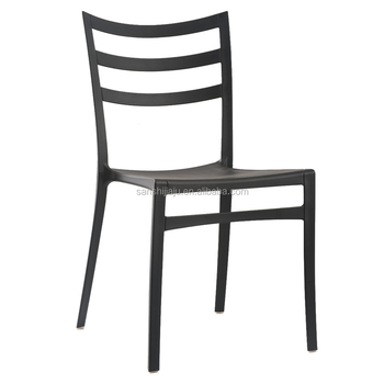 Whole Garden Line Stacking Chair Outdoor Furniture Plastic Dining