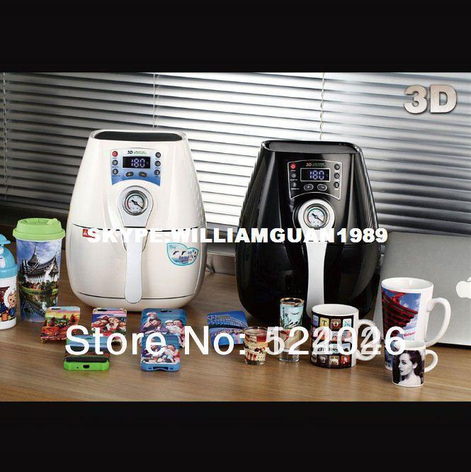 [K-PRINT] 6 Years Experience-NEW ARRIVALFree Shipping Mini 3D Vacuum Sublimation Machine Including All Accessories Heat Transfer