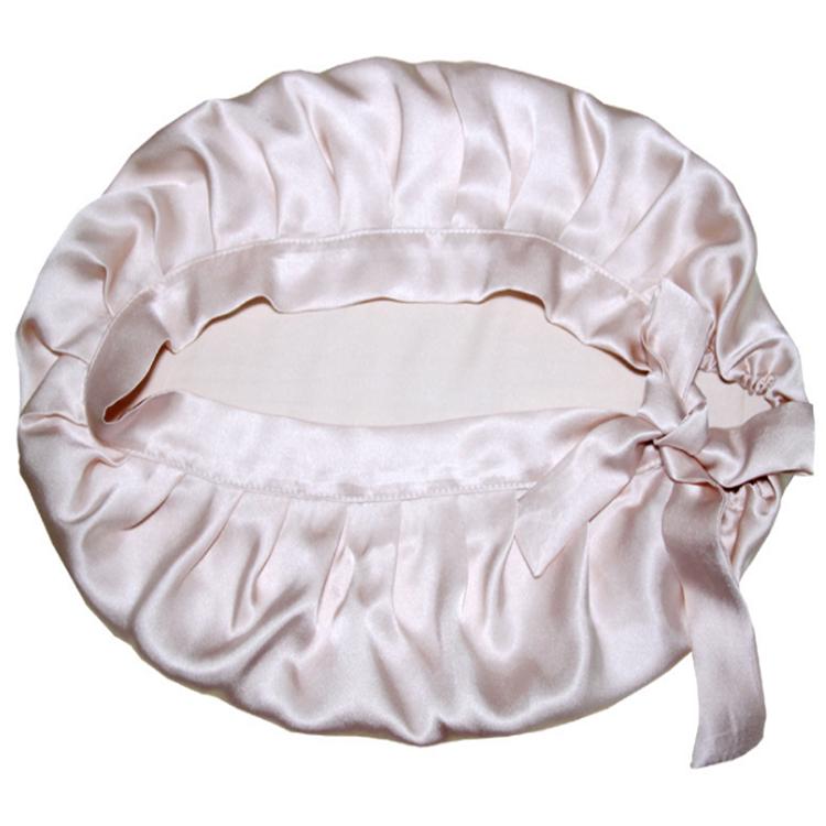 Tüm Renk Bayan Özel Logo Yumuşak İpek Uyku Uzun Saç Bonnet
