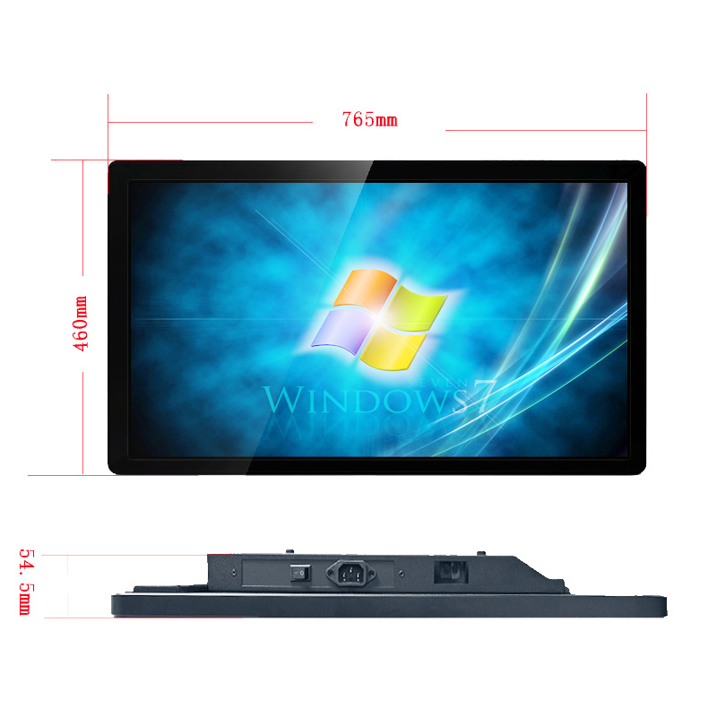 32 Inch Flat Projected Capacitive 10-point Multi-touch Monitor