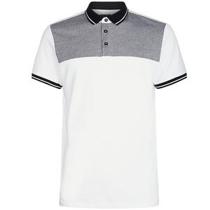 garment factory in vietnam short sleeve contrast trim 100% cotton polo shirts