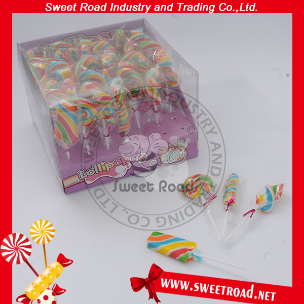 Colorful Filling Decoration Lollipop Candy