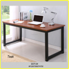 Wood panel type and metal frame office desk /office table