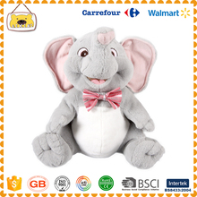 Customized plush and stuffed elephant toys with big ears