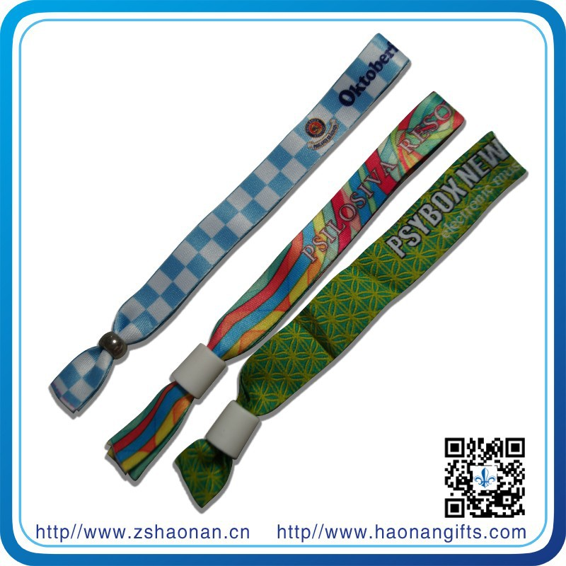 novelty items for sell health wristband party decoration with plastic tube slide locking