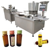 Small capping pharmaceutical liquid filling machine for wholesales