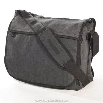 bbda4489dd75 Large capacity messenger diaper bag for daddy and mens baby care with nappy  changing pad, View men messenger diaper bag, Leadking messenger diaper bag  ...