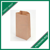 PE COATED KRAFT PAPER BAG HAMBURGER PACKAGING BAGS FOR SALE