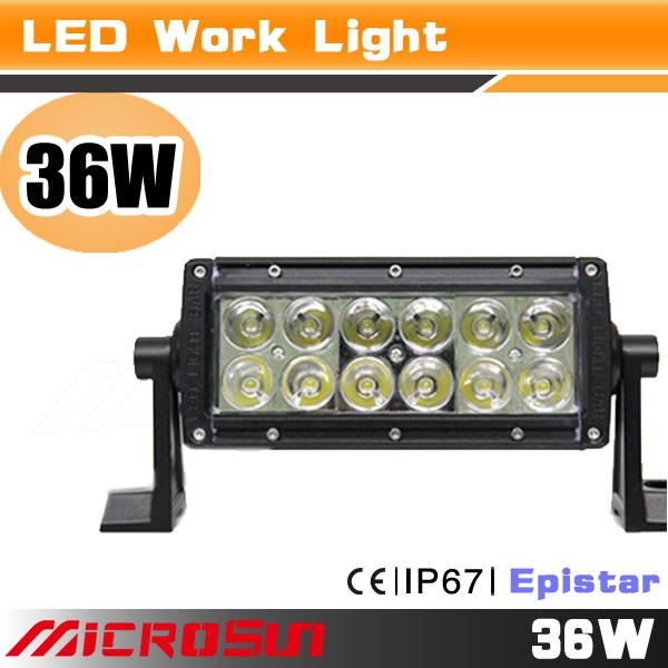 36w XML led work light bar for truck volkswagen bora accessories